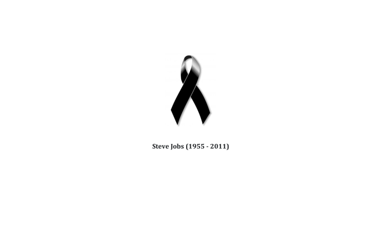 In Memoriam of Steve Jobs